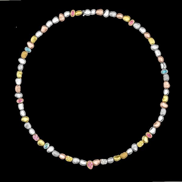 Single Pebble Necklace (Spring Version)