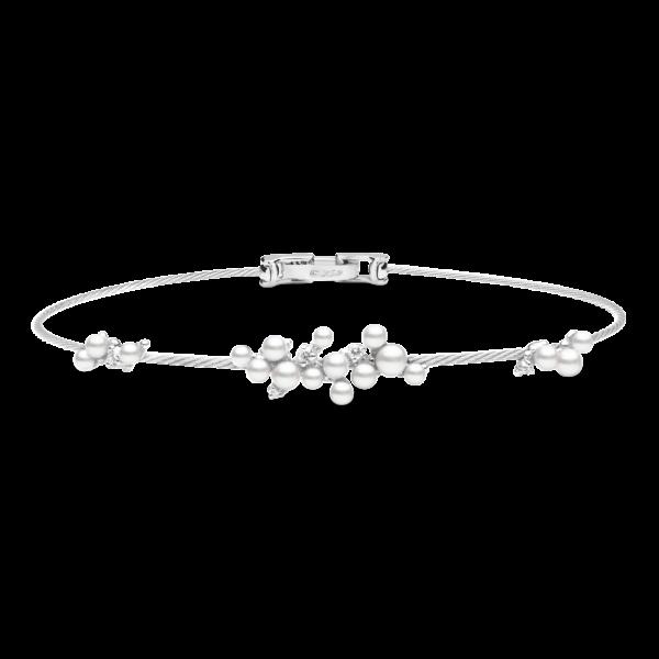 Single Lagrange Pearl Unity Bracelet