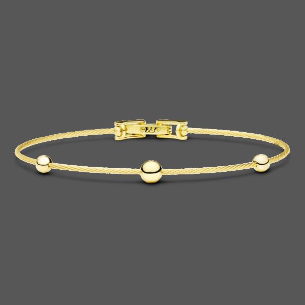 Unity 3 Sphere Wire Bracelet