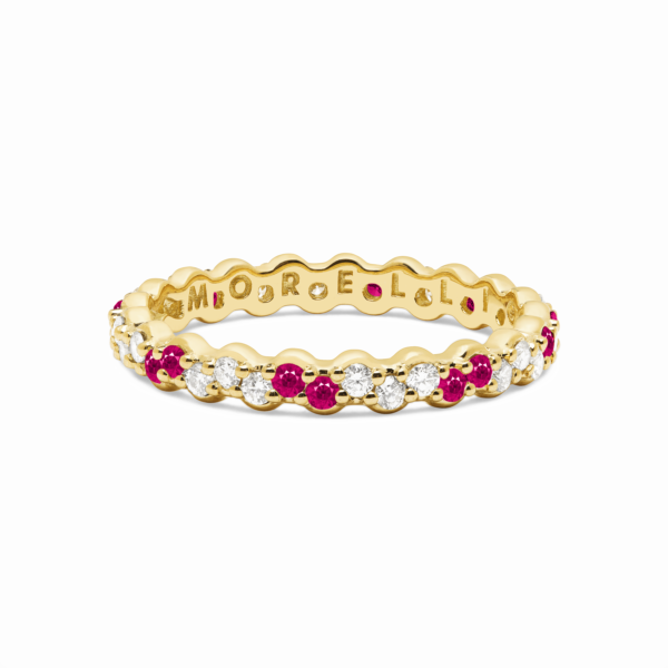 Shift Pinpoint Diamond Eternity Ring