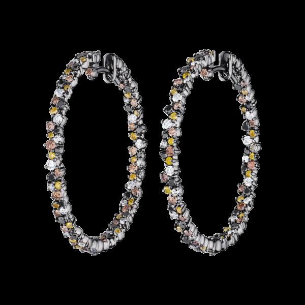Confetti Hoop Earring Medium