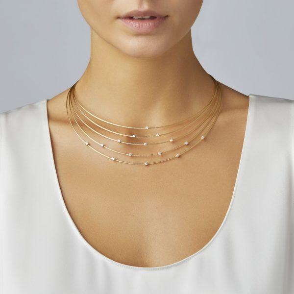 Multi Unity Wire Necklace