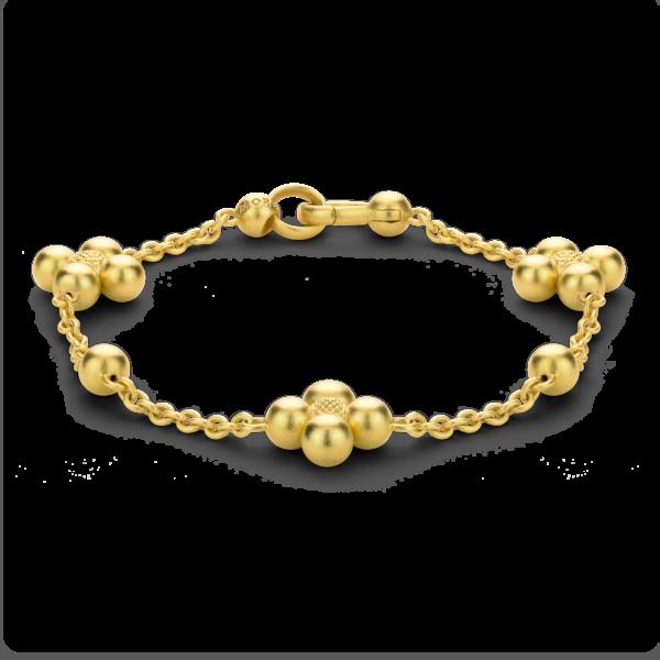 Golden Sequence Chain Bracelet