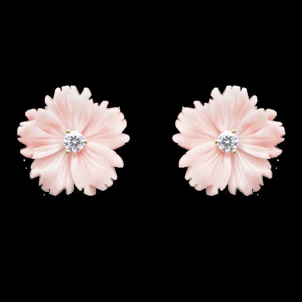 Conch Posy Stud Earring