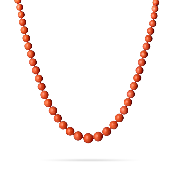 Coral Orb Strand