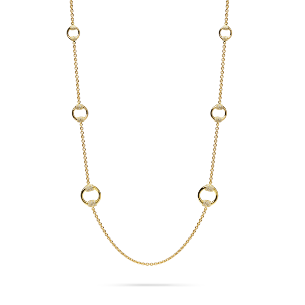 Diamond Equestrian Necklace