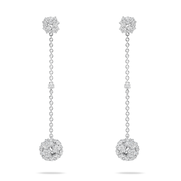 Diamond Palla Drop Earring