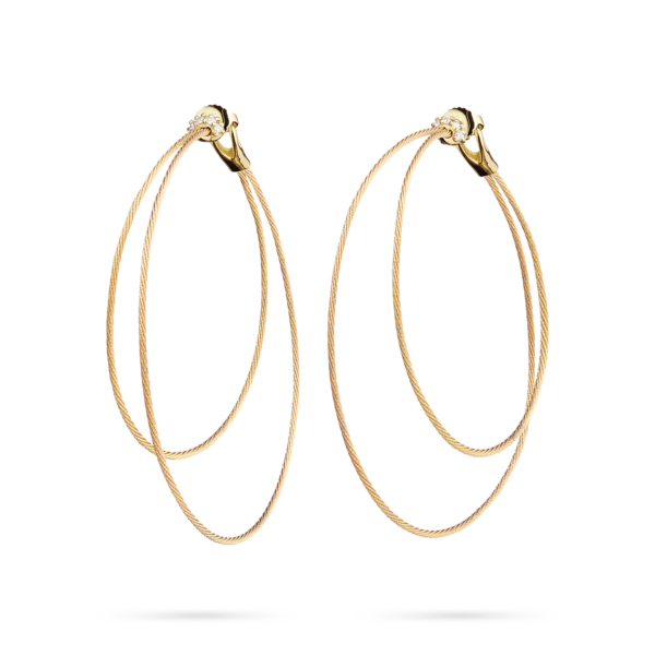 Double Unity Hoop Earring Large