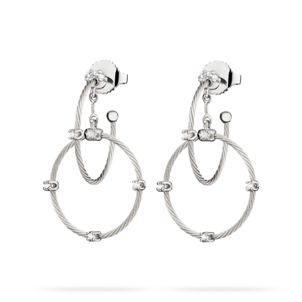 Double Unity Rain Chain Earring