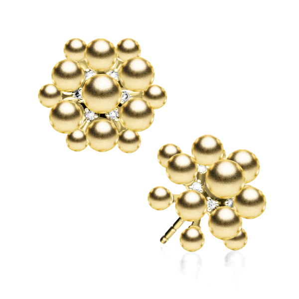 Golden Orbit Earring