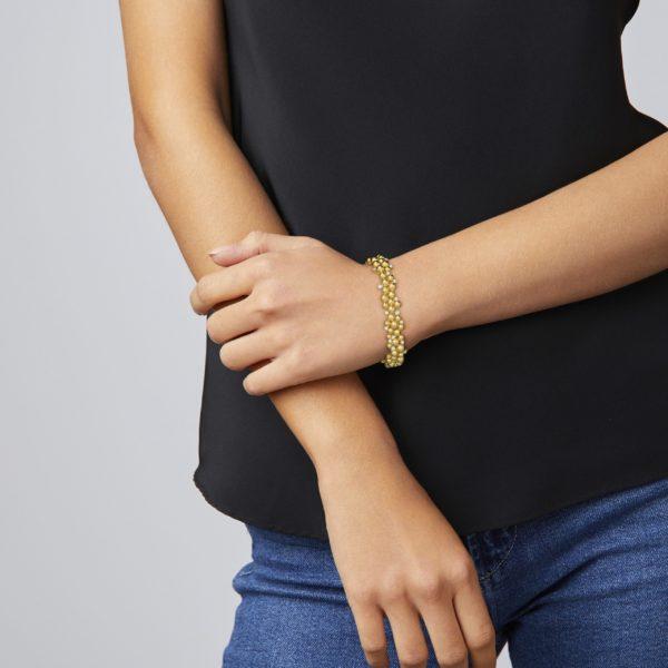 Golden Lagrange Link Bracelet