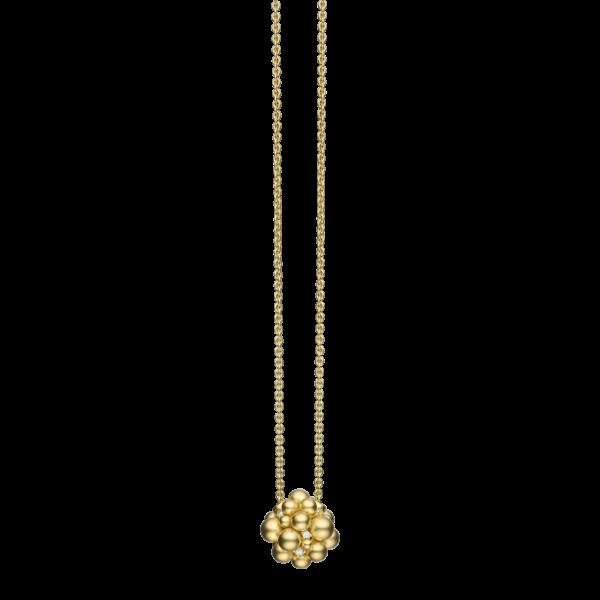 Golden Lagrange Sphere Pendant
