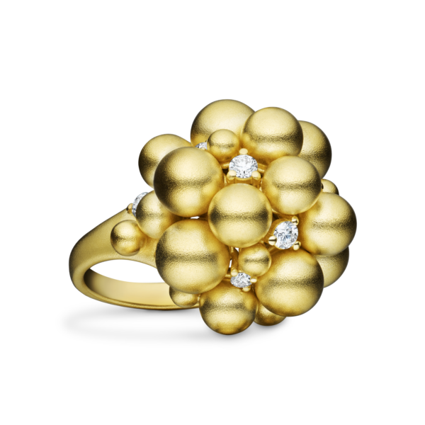 Golden Lagrange Sphere Ring