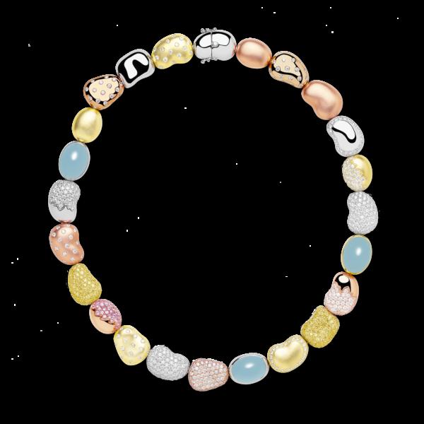 Grand Pebble Necklace (Spring Version)
