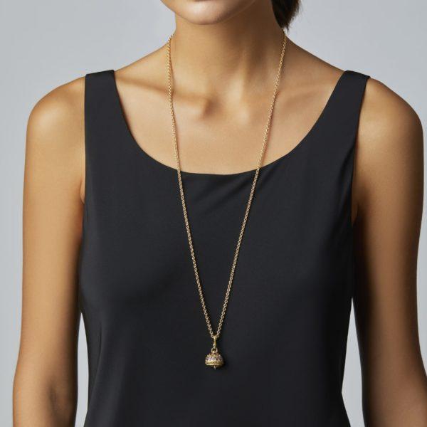 Meditation Bell With Gemstones