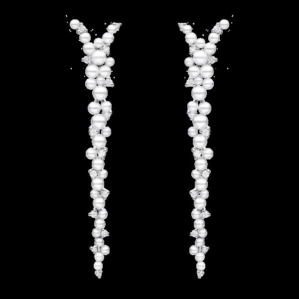 Lagrange Pearl Drop Earring