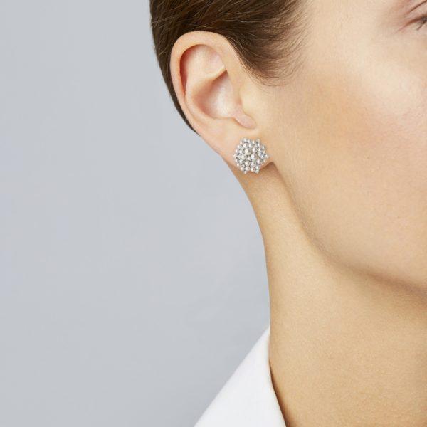Lagrange Pearl Stud Earring