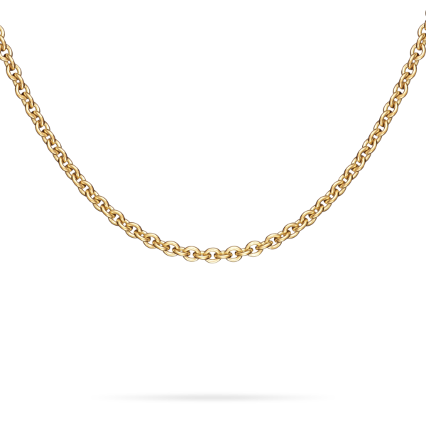 Meditation Bell Chain Necklace