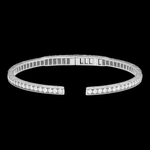Rectangular Pinpoint Diamond Bangle