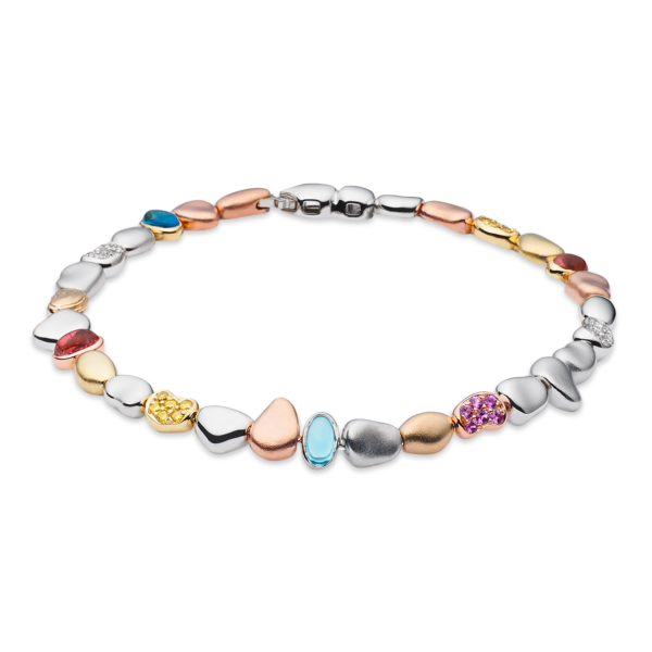 Single Pebble Bracelet (Spring Version)