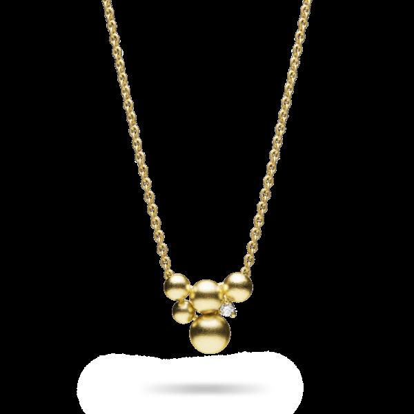 Small Golden Lagrange Pendant