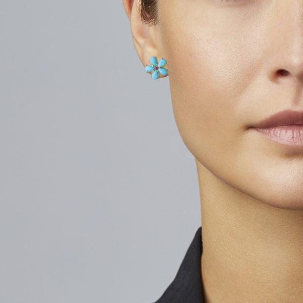 Petal Stud Earring