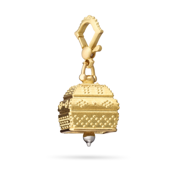 Square Granulated Meditation Bell