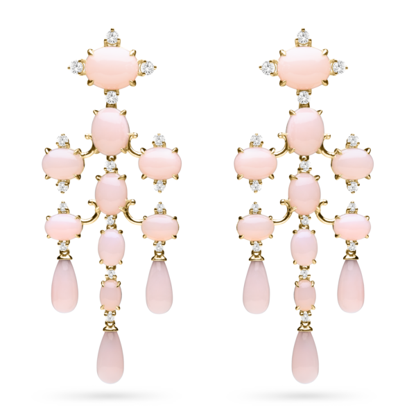 Tiered Dangle Earring