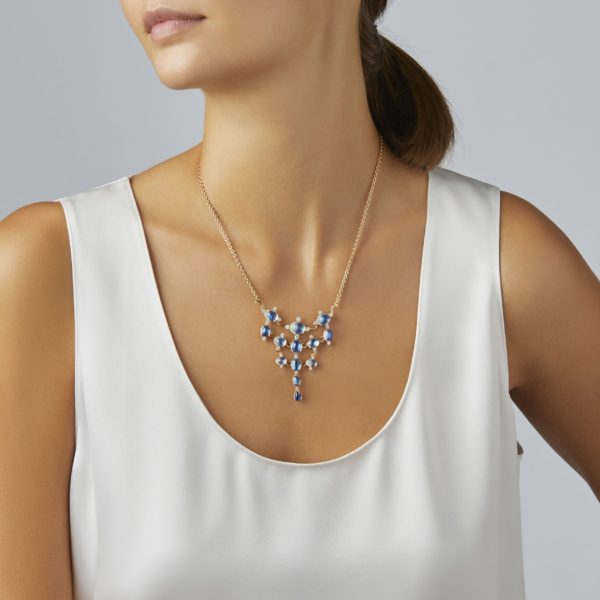 Tiered Moonstone Necklace