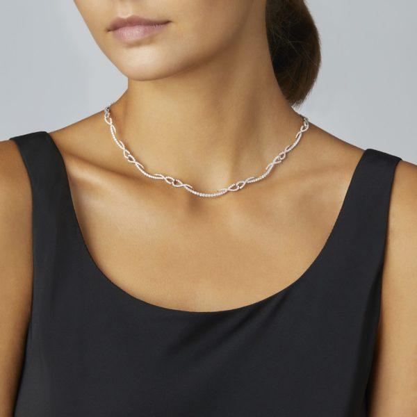 Tracuer Diamond Necklace