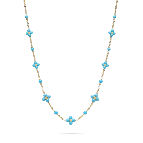 Turquoise Sequence Necklace