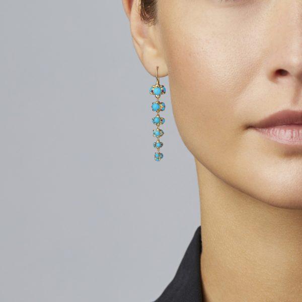 Bubble Drop Earring