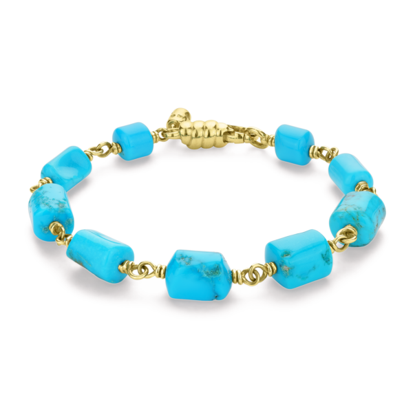 Turquoise Barrel Bracelet