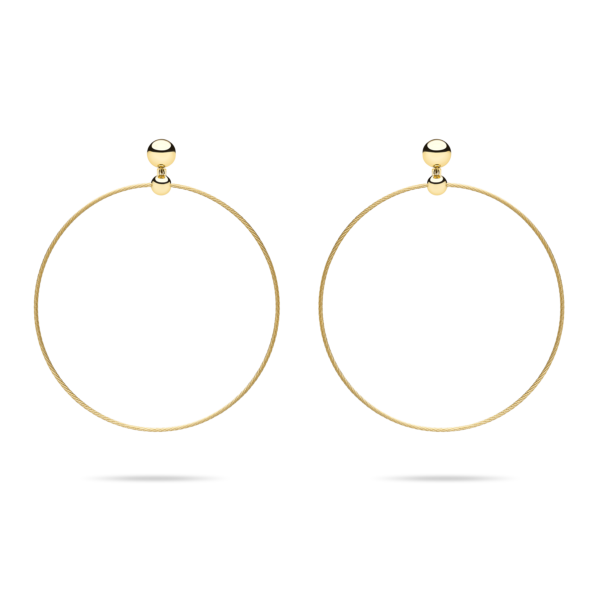 Unity Wire Halo Earring