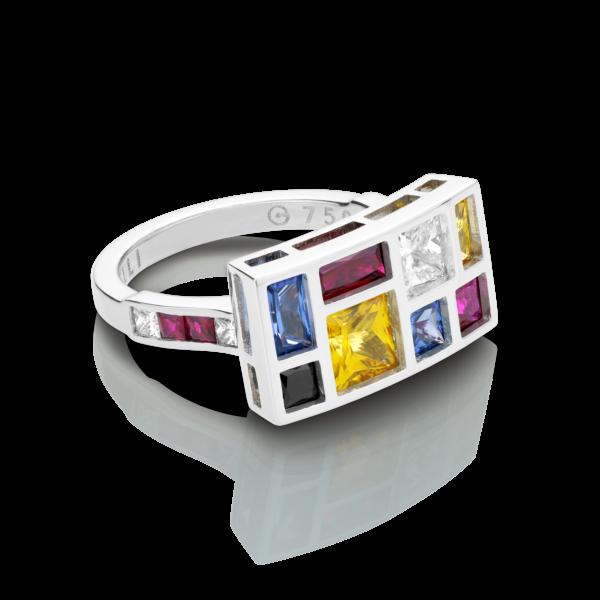 De Stijl Ring
